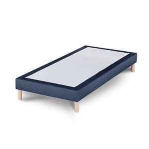 Granatowe łóżko Stella Cadente Sommier, 90x200 cm