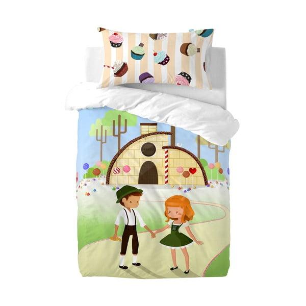 Pościel Mr. Fox Candy House, 115x145 cm