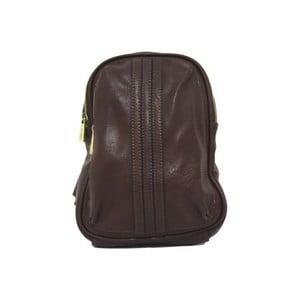 Plecak Bobby Black - kawowy, 18x26 cm