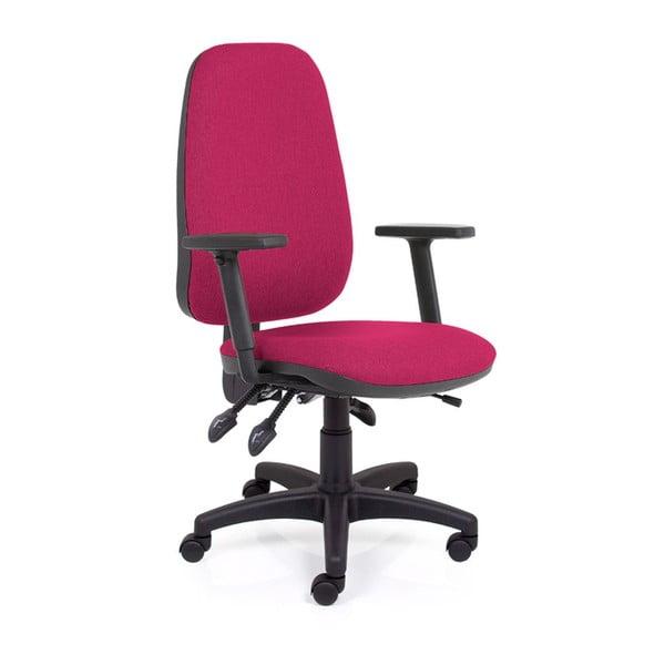 Krzesło biurowe Alex Balanc XL, ciemna czerwień