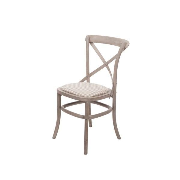 Beżowe krzesło z drewna brzozowego Livin Hill Venezia