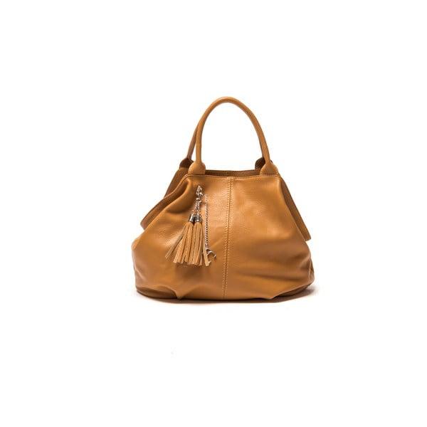 Skórzana torebka Renata Corsi 1076 Cognac