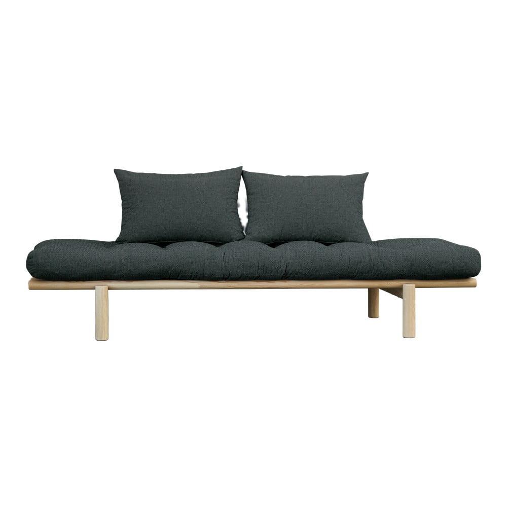 Sofa z ciemnoszarym obiciem Karup Design Pace Natural/Slate Grey