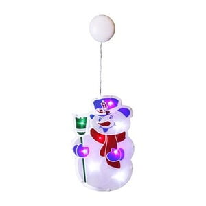 Świecąca dekoracja Snowman Cap