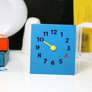 Zegar Desk Clock, niebieski