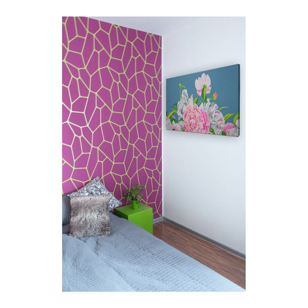 Obraz Peonie Flowers, 100x70 cm