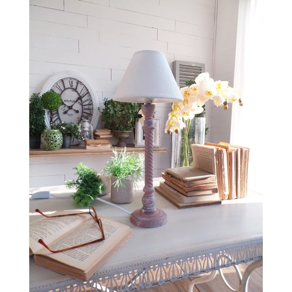 Lampa stołowa Rusty Blue, 19x45 cm