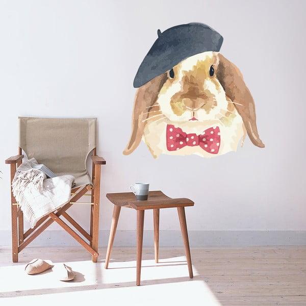 Naklejka naścienna Handsome bunny