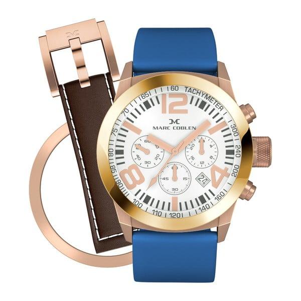 Zegarek damski Marc Coblen z dodatkowym paskiem i obręczą P91