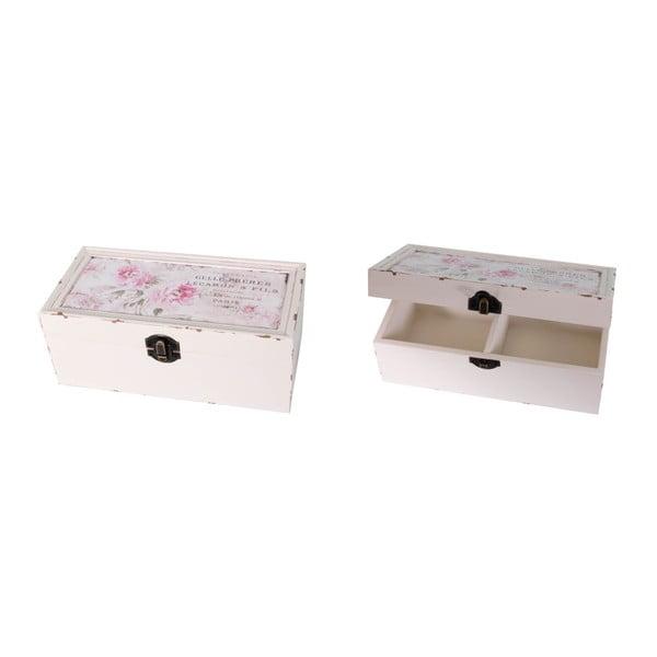 Pudełko Antic Line Romantique, 20x10 cm