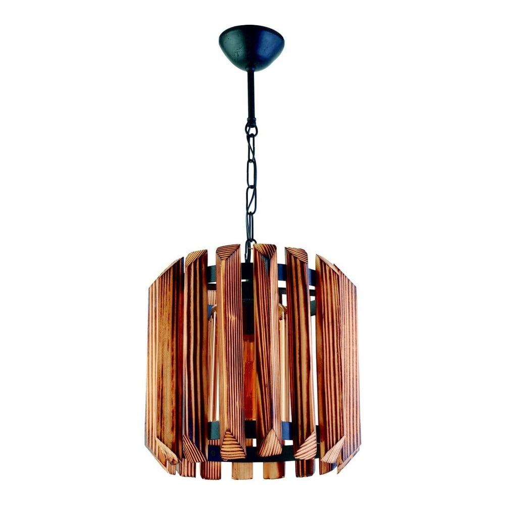 Lampa wisząca z drewna grabu Siesta Tekli
