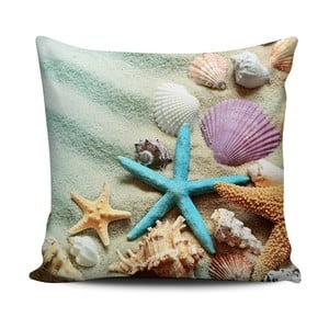 Poduszka Home de Bleu Tropical Shells, 43x43 cm