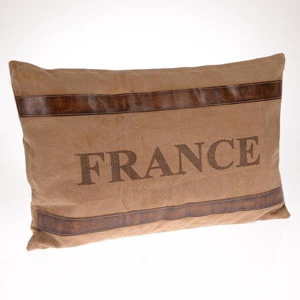 Poduszka France Beige, 60x40 cm