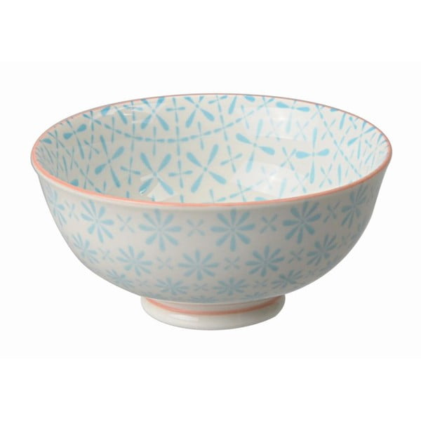 Porcelanowa miska Rice Blue, 12x5,6 cm