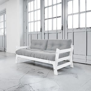 Sofa rozkładana Karup Step White/Light Grey