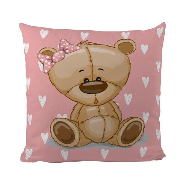 Poduszka   Teddy Little Lady, 50x50 cm