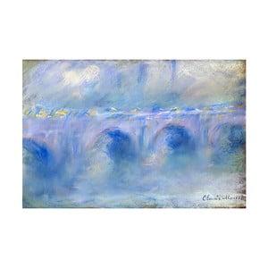 Reprodukcja obrazu Claude'a Moneta Le Pont de Waterloo, 90x60 cm