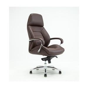 Brązowe obrotowe krzesło biurowe RGE Sport