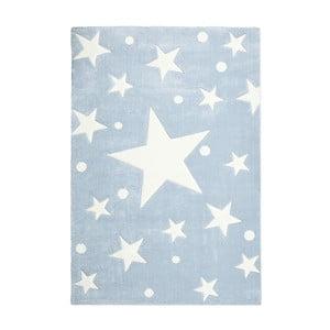 Niebieski dywan dziecięcy Happy Rugs Star Constellation, 80x150 cm