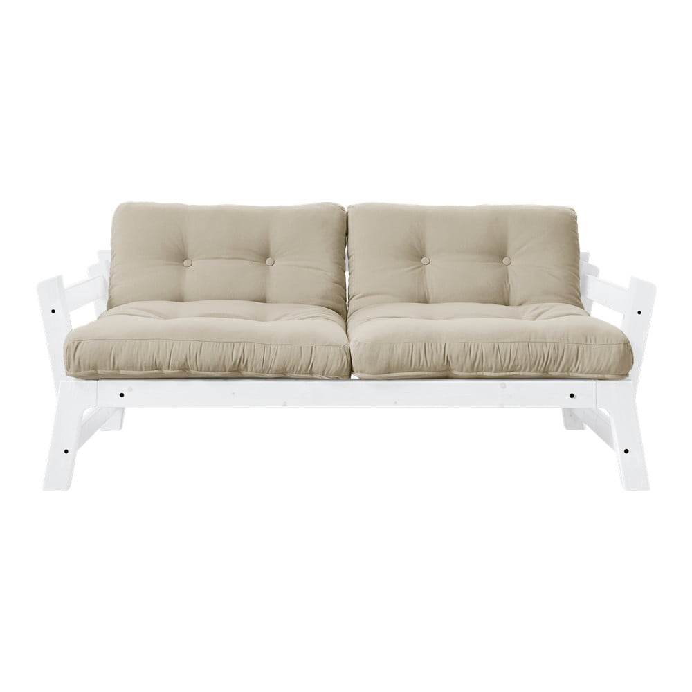 Sofa rozkładana Karup Design Step White/Beige