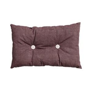 Poduszka z wypełnieniem Button 65x40 cm, różowa