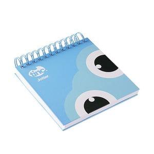 Niebieski notatnik na spirali TINC Tonkin