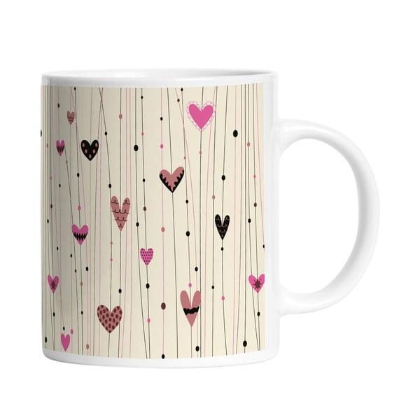 Ceramiczny kubek Sweet Love, 330 ml