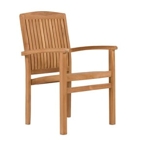 Krzesło ogrodowe z drewna tekowego SOB Garden