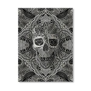 """Plakat autorski """"Skull Laces"""""""