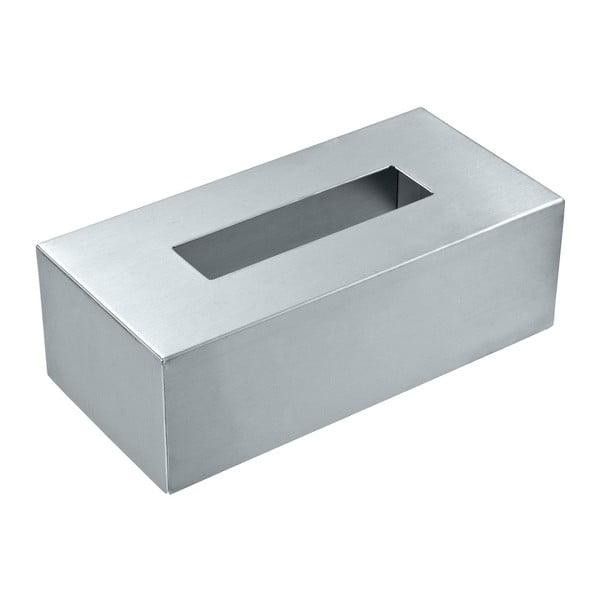 Pudełko na chusteczki higieniczne ze stali nierdzewnej Wenko
