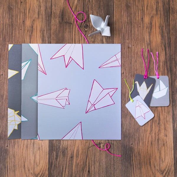 Zestaw do pakowania prezentów Mixed Origami