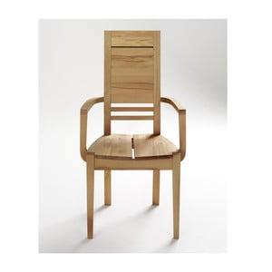 Krzesło z podłokietnikami bukowe SIT