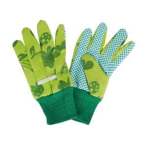 Zielone rękawice dziecięce do ogrodu Esschert Design