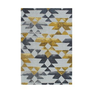 Dywan Eko Rugs Susler Grey/Yellow, 135x200 cm