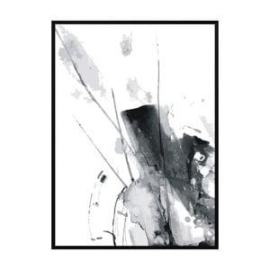 Plakat Nord & Co Grey Line, 21x29 cm