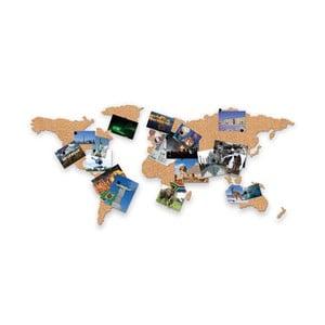 Naścienna mapa korkowa Corkboard Map