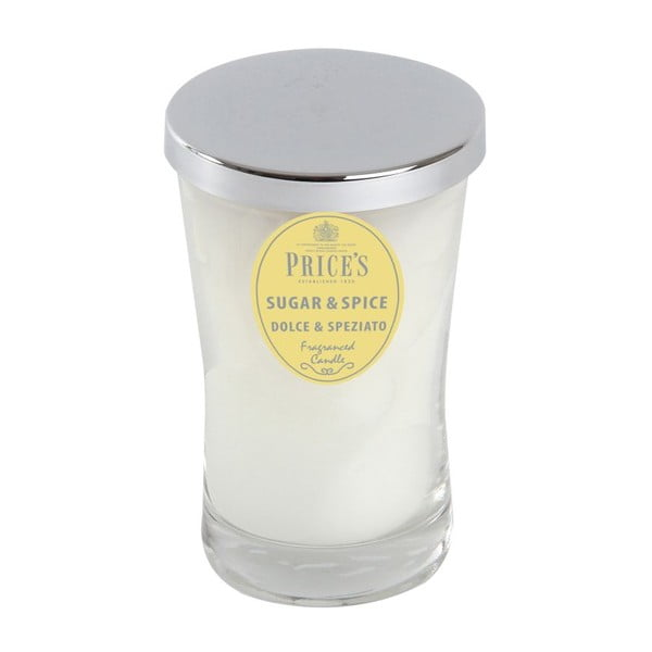Świeczka zapachowa Sugar and Spice, 70 godzin palenia