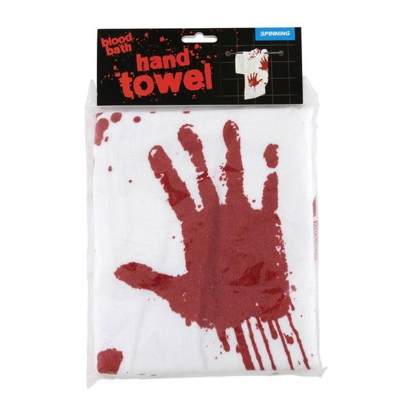 Zakrwawiony ręcznik