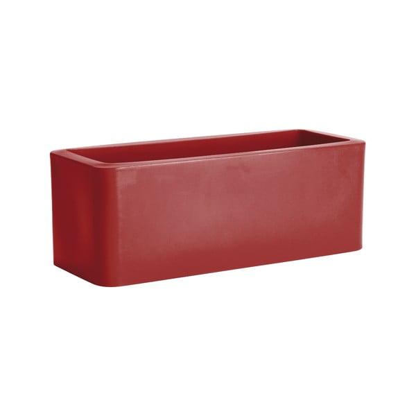 Doniczka Calypso, czerwona