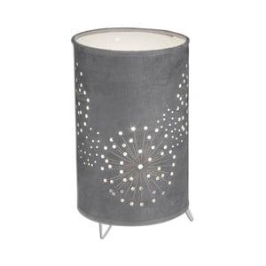 Ciemnoszara lampa stołowa Naeve Löwenzahn