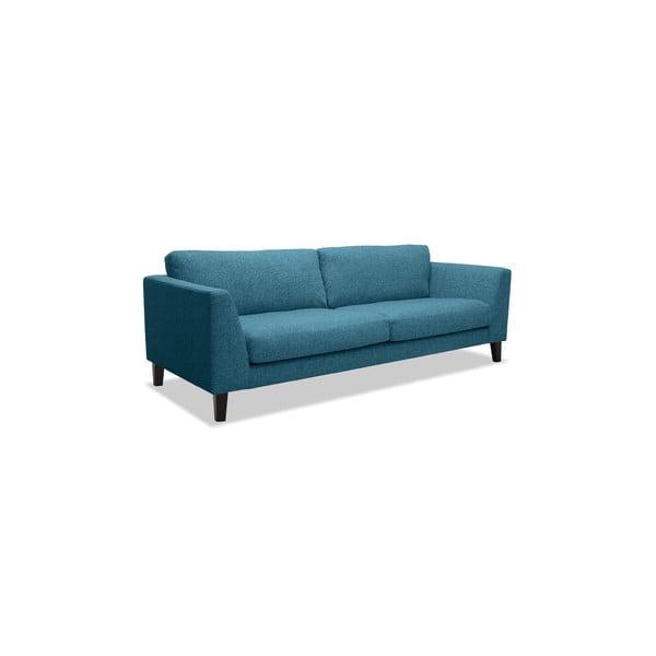 Turkusowa sofa trzyosobowa Vivonita Monroe