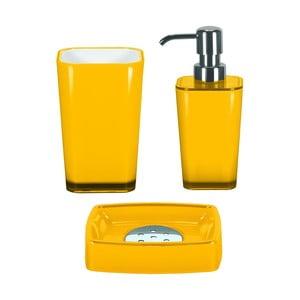 Zestaw akcesoriów łazienkowych Easy Yellow