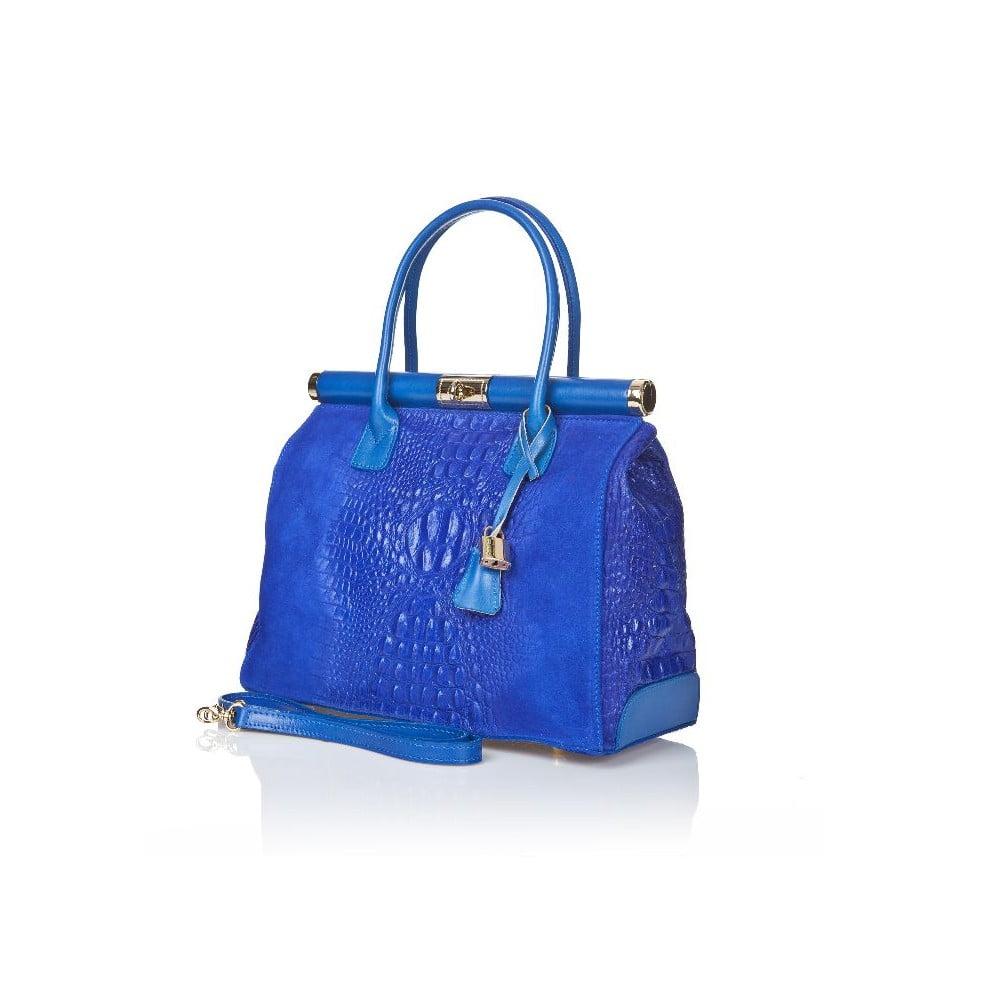 0248193dedea1 Niebieska torebka skórzana Markese Mara | Bonami