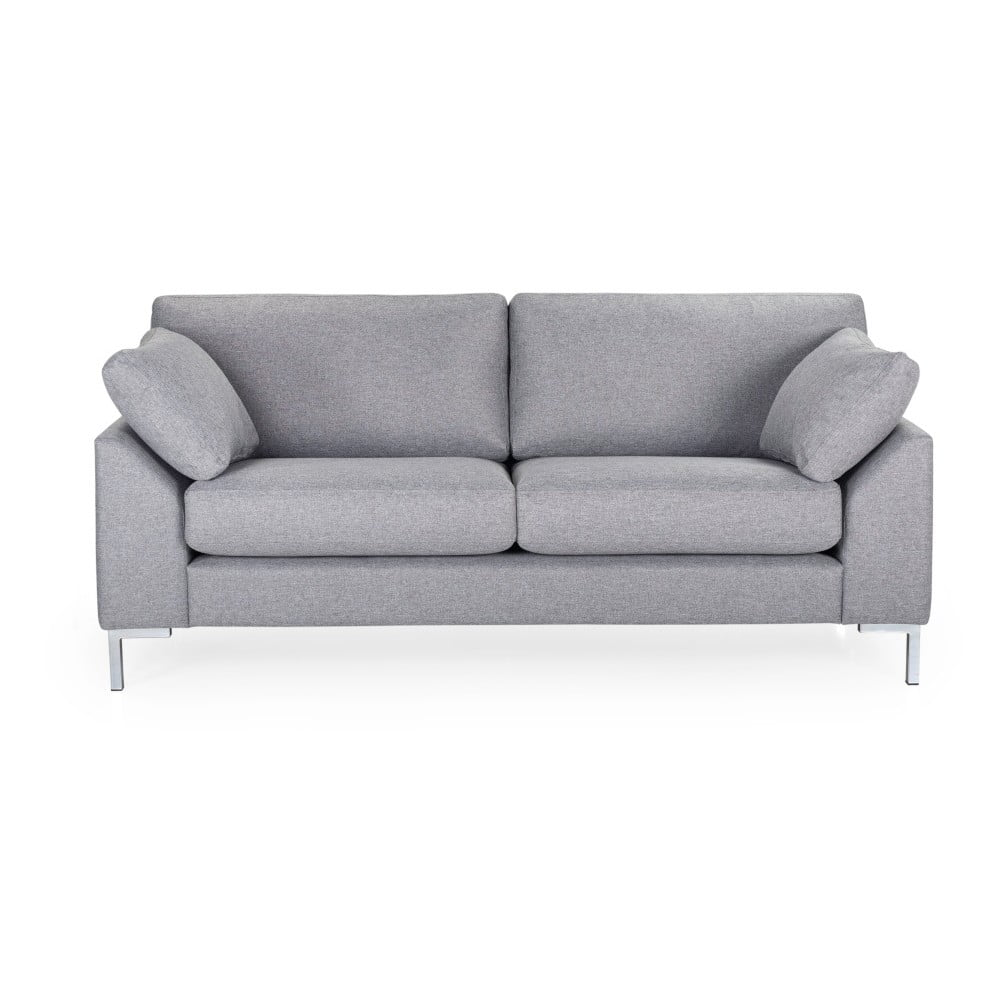 Jasnoszara sofa 2-osobowa Softnord Garda