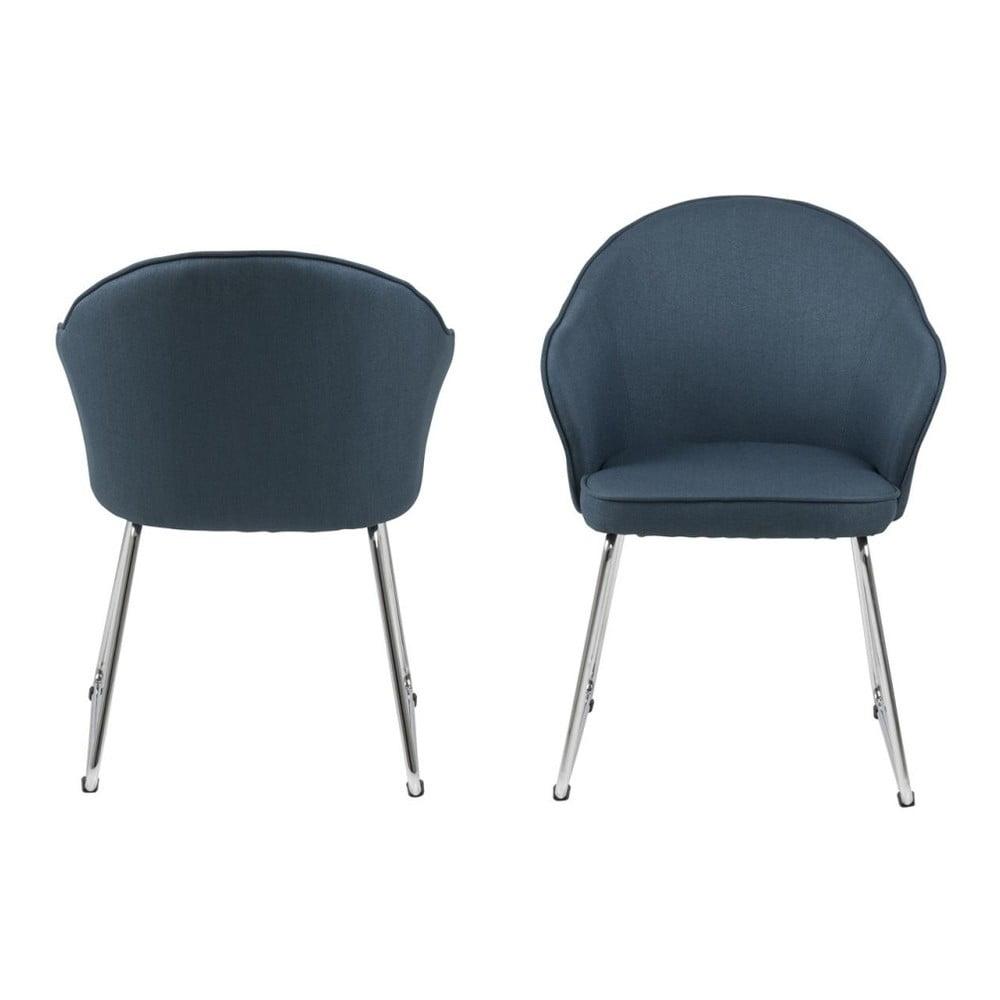 Niebieskie krzesło Actona Mitzie