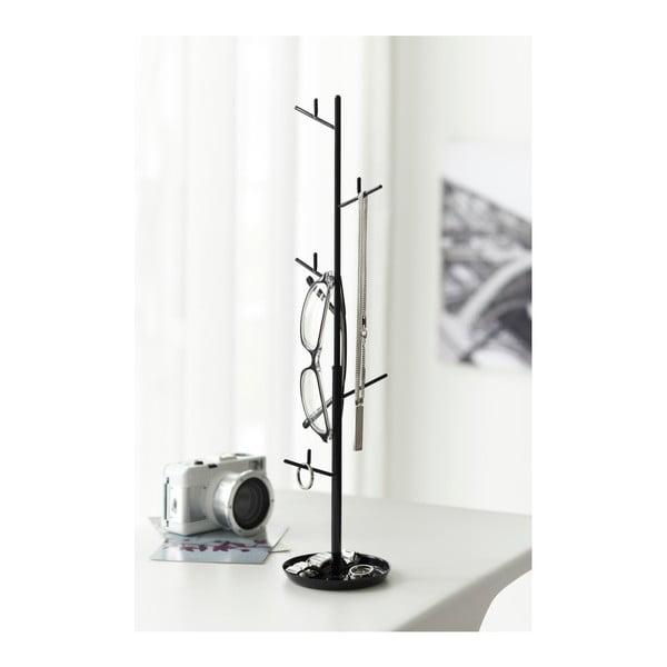 Czarny stojak na biżuterię Yamazaki Branch
