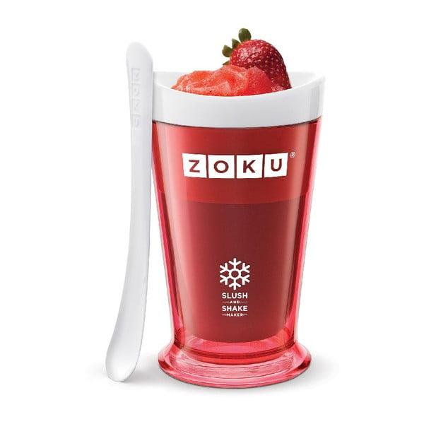 Czerwona maszynka do shake'ów Zoku Slush