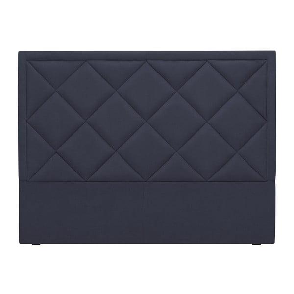 Ciemnoniebieski zagłówek łóżka Windsor & Co Sofas Superb, 180x120 cm