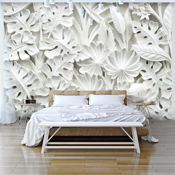 Tapeta wielkoformatowa Bimago Alabaster Garden, 350x245 cm