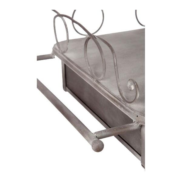 Metalowe biurko Curlis